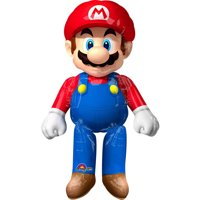 Super Mario Bros. Airwalker Foil Balloon