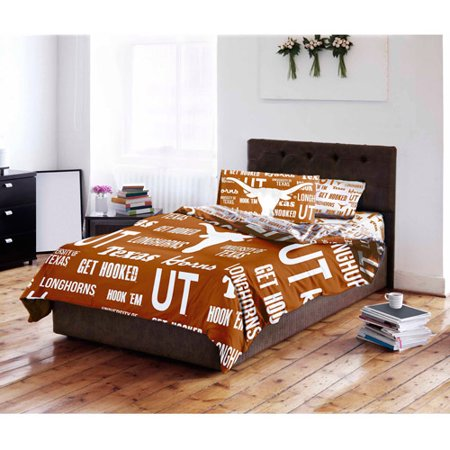 NCAA University of Texas Longhorns Bed in a Bag Complete Bedding Set