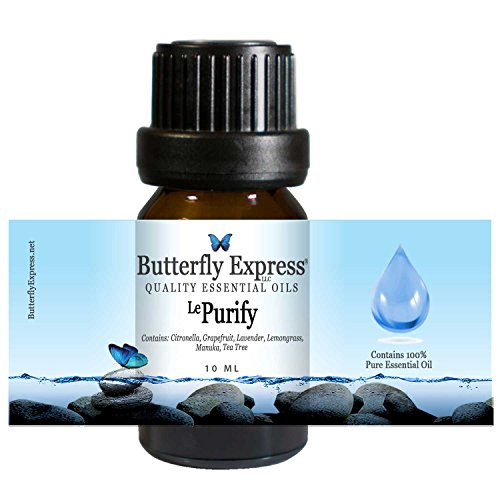Le Purify Essential Oil Blend 10ml - 100% Pure - by Butterfly Express