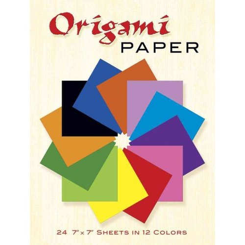 Origami Paper: 24 7 X 7 Sheets in 12 Colors