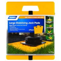 Camco 44541 Large RV Stabilizing Jack Pads Without Handle, Helps Prevent Jacks f