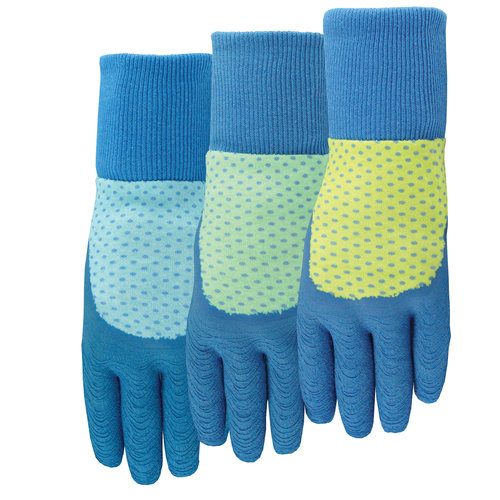 MidWest Quality Gloves, Inc. EZ Grip Textured Rubber Gloves, Size M