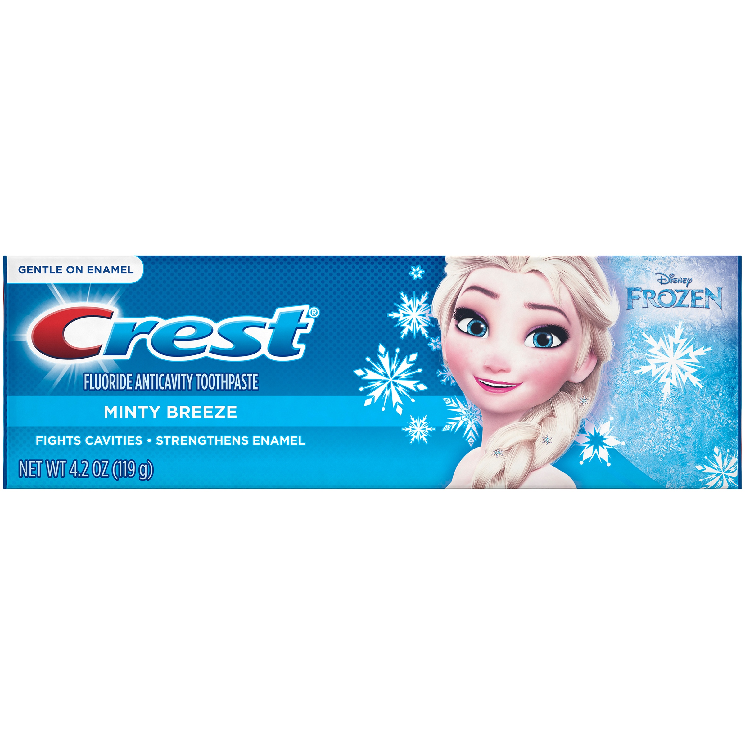 Pro Health Jr Crest Pro-Health Jr. Disney Frozen Characters Kids Minty Toothpaste with FREE Disney Magic Timer App by Oral-B 4.2 oz