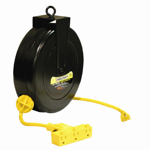 Reelcraft Triple Outlet Cord Reel