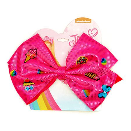 JoJo Siwa Ponytail Holder Bow (Pink - Ponytail Bow