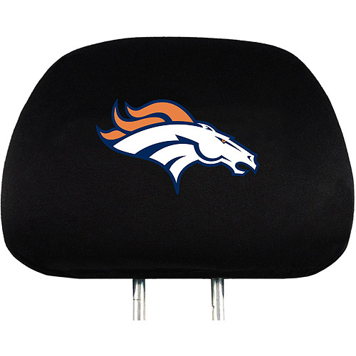 Denver Broncos NFL Head Rest Cover