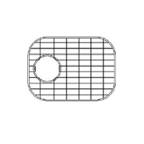 Empire Industries 13.88'' x 8.88'' Sink Grid for 16 Gauge Undermount Small Left Bowl Kitchen Sink