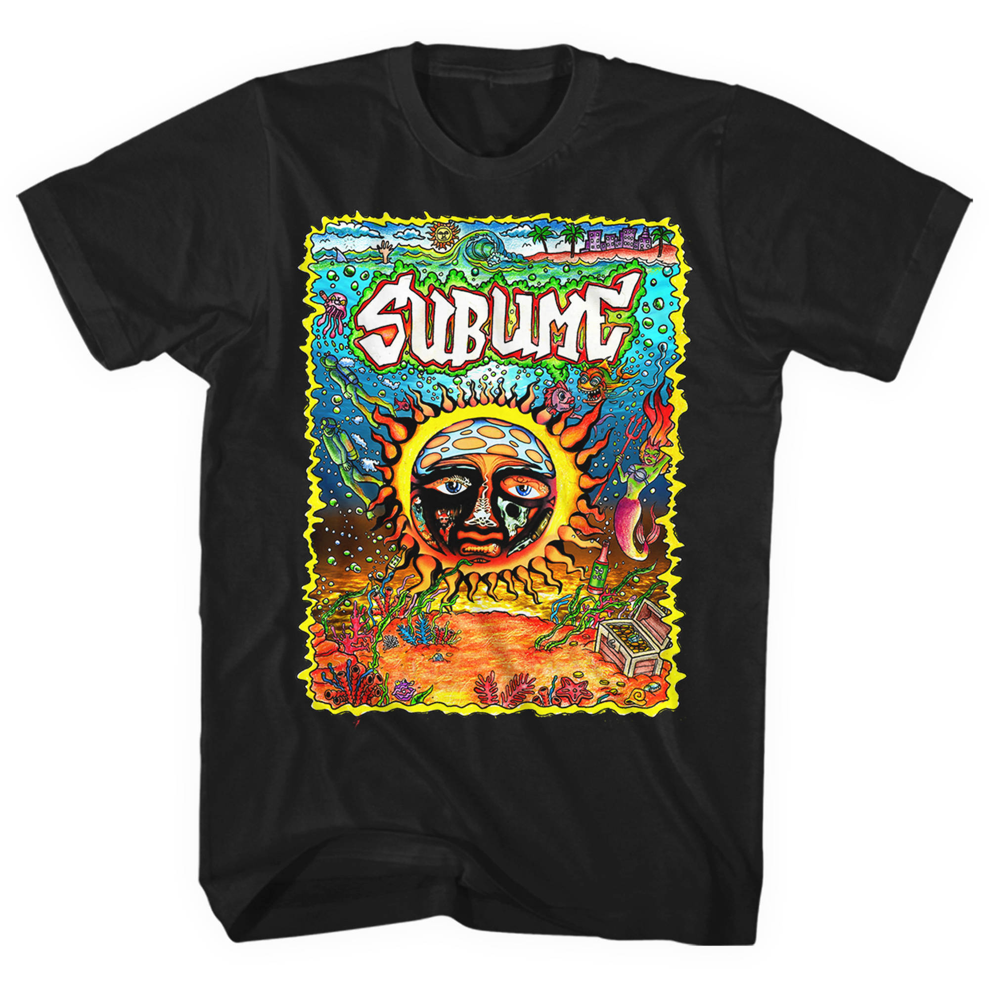 Sublime Under the Sea Men's Graphic Tee