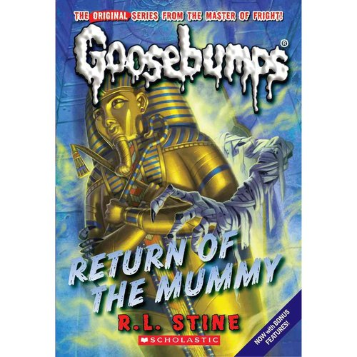 Return of the Mummy: Includes Bonus Material Behind the Screams by Gabrielle S. Balkan