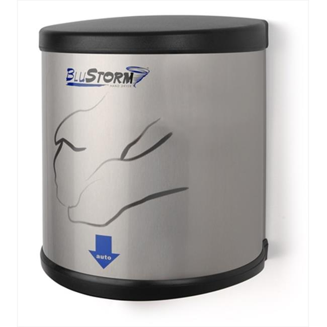 E-Z Taping System HD0950-09 110/120V BluStorm High Speed Brushed SS Palmer Hand Dryer in Stainless