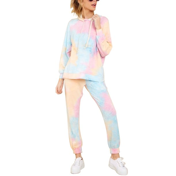 Selfieee Black Friday Women S Plus Size 2 Piece Pullover Hoodie Sweatpants Jogging Suits Outfits 30027 Pink Xx Large Walmart Com Walmart Com