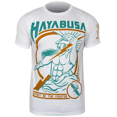 Hayabusa Mens Olympus T-Shirt - White (Hayabusa T Shirt)