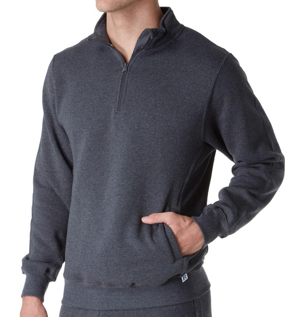 Russell 1//4 Zip Outdoor Fleece