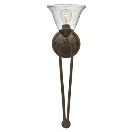 Hinkley Lighting 4671 1-Light Wallchiere Wall Sconce from the Bolla (Bolla Small Wall)