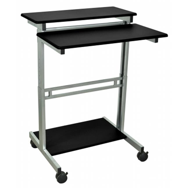 Luxor STANDUP-31.5-B Stand Up Desk 31.5 Wide Black