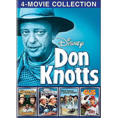 Disney: Don Knotts 4-Movie Collection - The Apple Dumpling Gang / The Apple Dumpling Gang Rides Again / Gus / Hot Lead & Cold Feet
