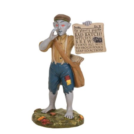 Department 56 Halloween Village  Bad News Paperboy Accessory Figurine 6003229](News Yale Halloween)