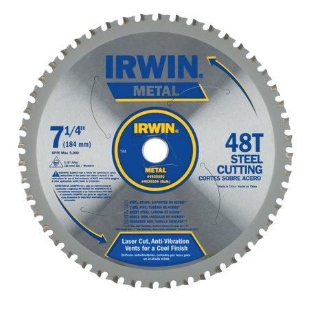 Irwin Metal Cutting Blades, 7-1/4-Inch, 48 Teeth