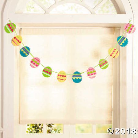 Easter Egg Garland - Easter Egg Garland