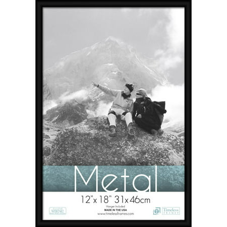 timeless frames metal picture and photo frame 12x18