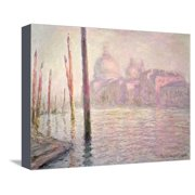 View of Venice, 1908 Stretched Canvas Print Wall Art By Claude Monet