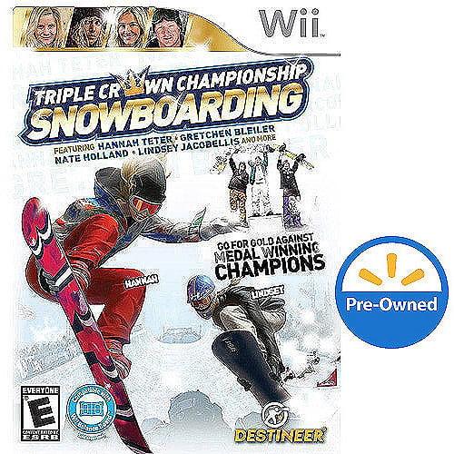Triple Crown Snowboarding  (Wii) - Pre-Owned