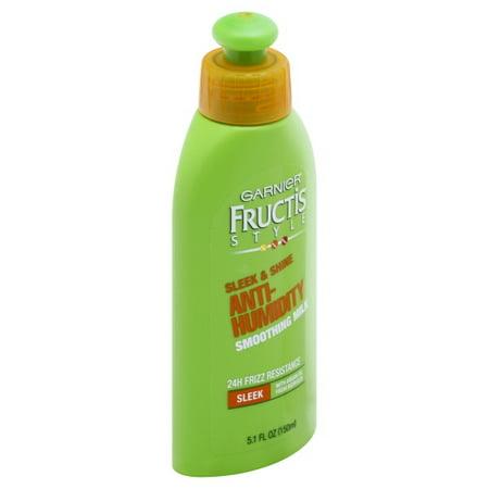 Garnier Fructis Style Anti-Humidity Smoothing Milk, 5.1 fl.
