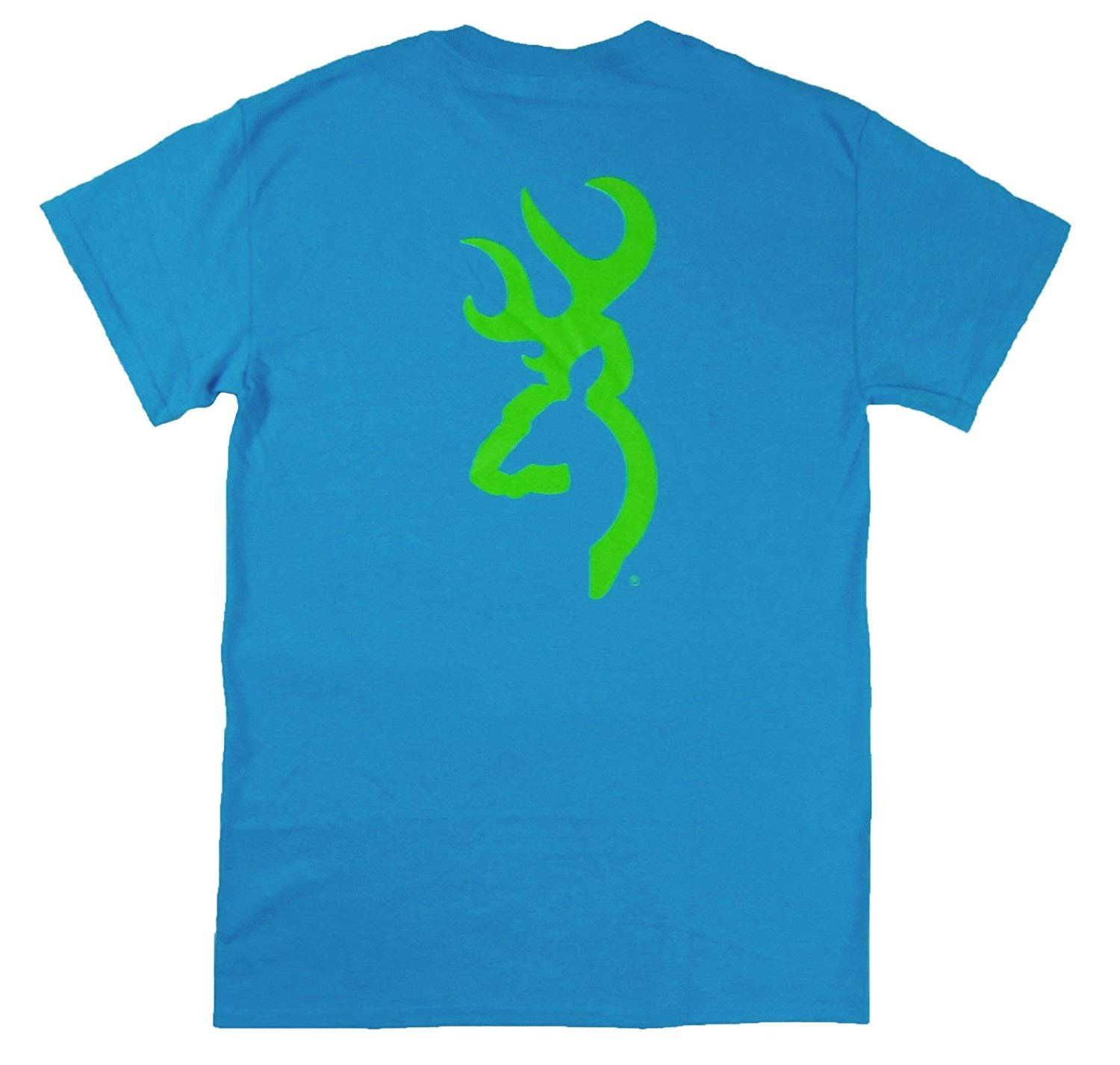 Browning Mens Green Hat /& T-Shirt Arms Co Combo