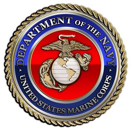 Colts Decorations (Partypro TQP-3000 Us Marine Corps Medallion)