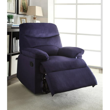 Oakwood Woven Fabric Recliner, (Chocolate Low Leg Recliner)