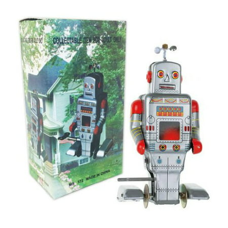 Vintage Style Side Stepping Mechanical Robot (Style Robot)
