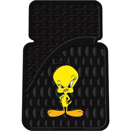 Plasticolor Tweety Attitude Floor Mat