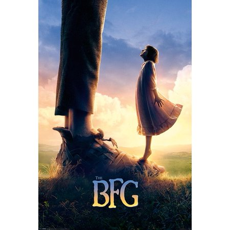 The BFG - The Big Friendly Giant - Movie Poster / Print (Teaser Style) (Size: 24