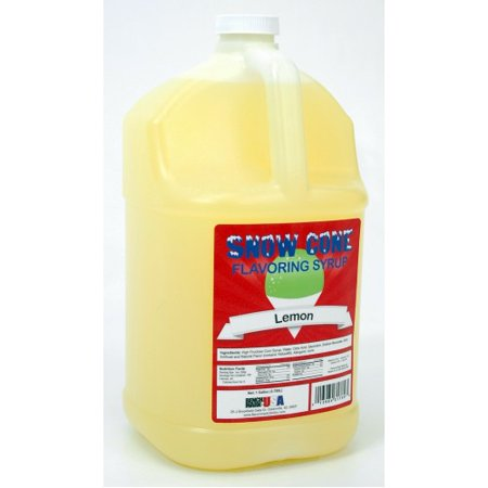 Benchmark USA 72004 Snowcone Syrups - Lemon