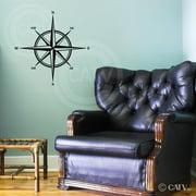 compass vinyl wall decal sticker
