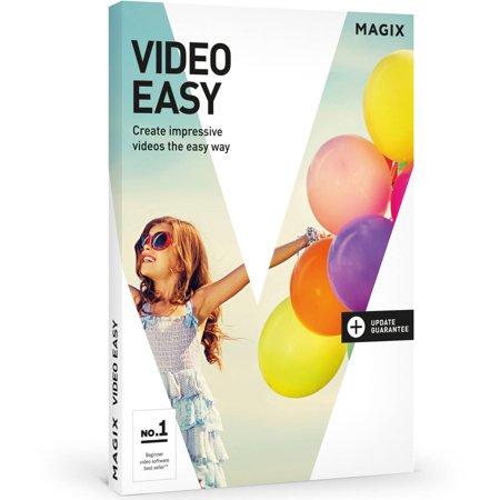 Sound Editing Software - Magix Software ANR004996ESD Magix Video Easy ESD (Digital Code)