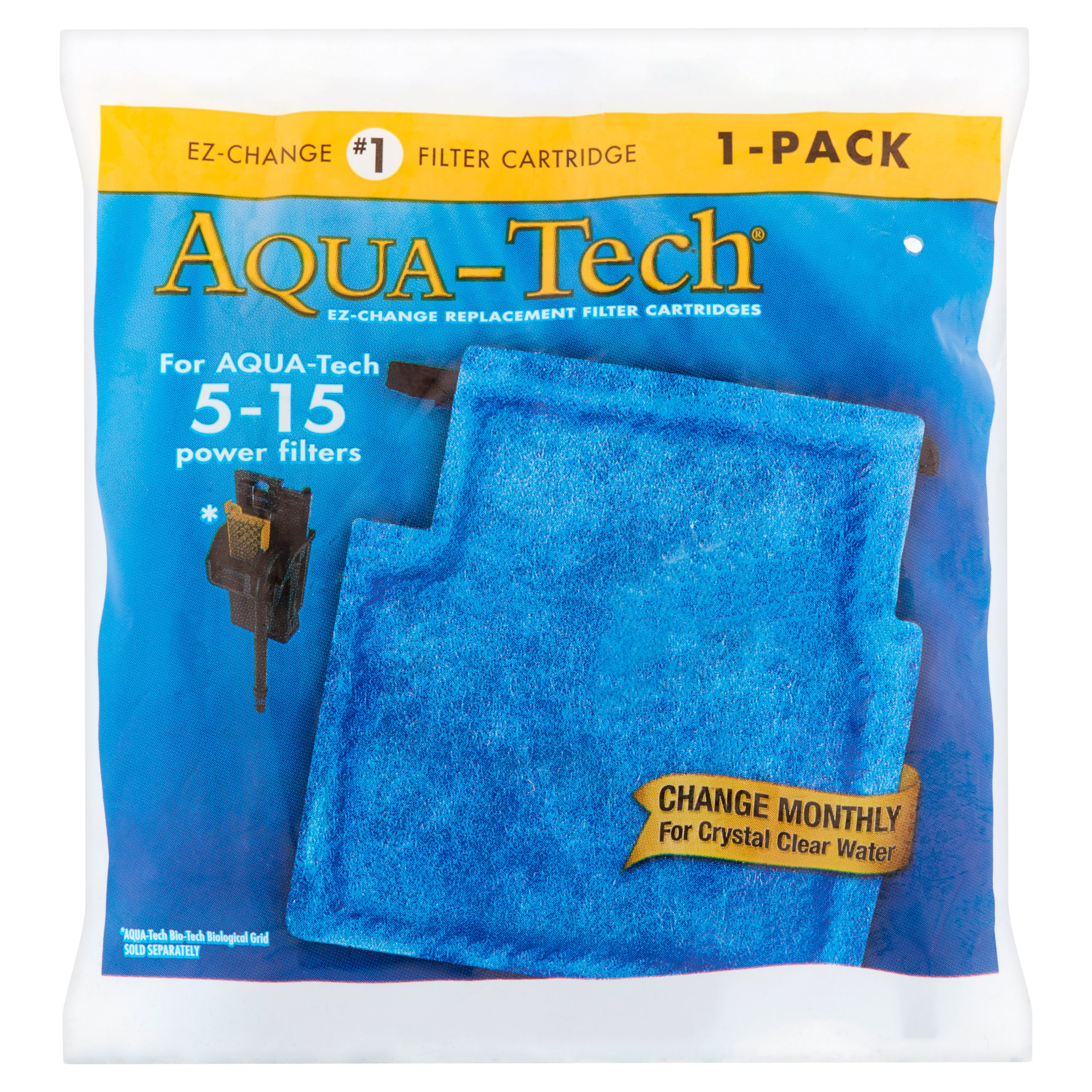 Aqua-Tech EZ-Change #1 Filter Cartridge for 15-15 Filters, 1 pack