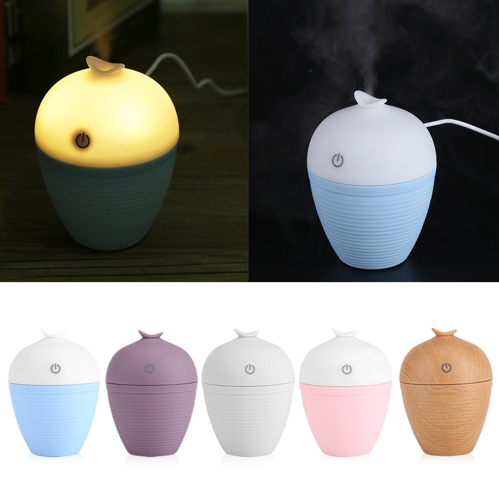 HURRISE 120ML Portable USB Car Home Office Ultrasonic Mist Air Humidifier Aroma Diffuser