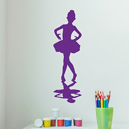 Little Ballerina Wall Decal Sticker, Girl