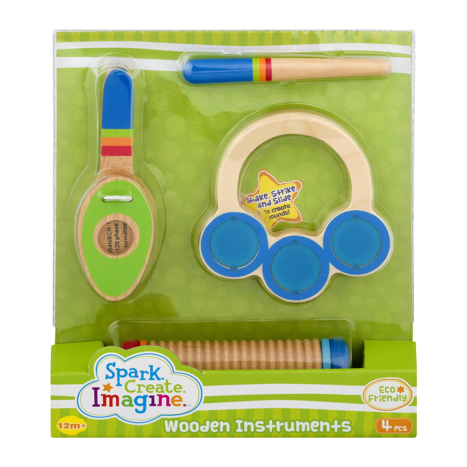 Spark Create Imagine Wooden Instruments, 4.0 PIECE(S)
