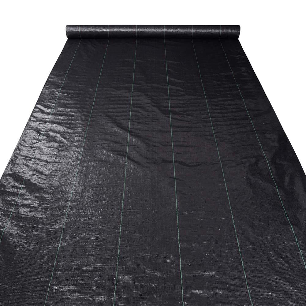 Yescom Landscape Fabric 4.1oz Weed Barrier Woven PP with UV Treated Block Mat Ground Cover Outdoor Garden