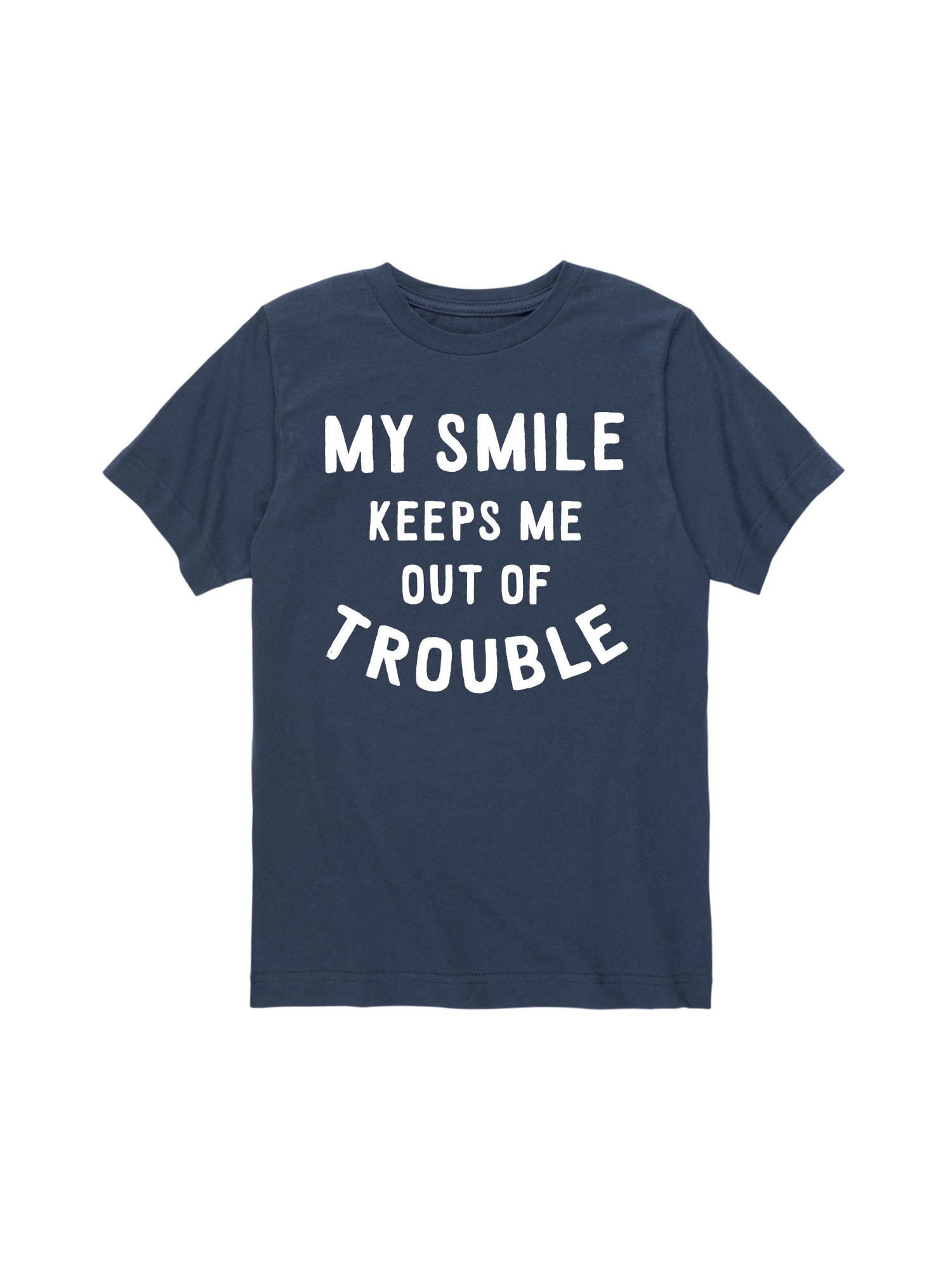 My Smile Trouble - Toddler Short Sleeve Tee
