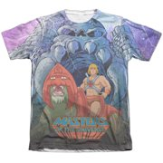 Masters Of The Universe Protecting Grayskull (Front Back Print) Mens Shirt