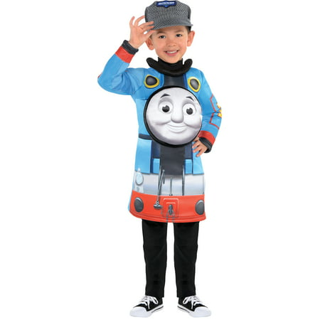 Sew It Yourself Halloween Costumes (Thomas the Tank Engine Halloween Costume for Toddler Boys, 3-4T, with)