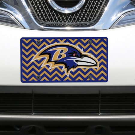 Baltimore Ravens Chevron Acrylic Laser Cut Plate - No Size](Plates Baltimore)
