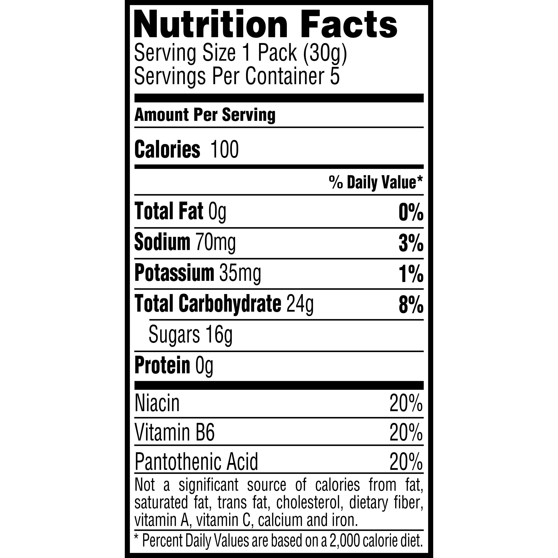 Gatorade Prime Energy Chews, Fruit