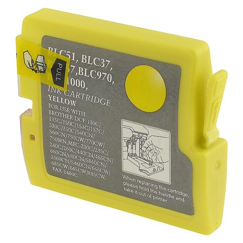 Insten Compatible For Brother LC51Y Ink Cartridge, Yellow