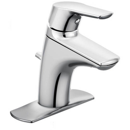 Moen 6810 Method Single Hole Bathroom Faucet, Available in Various Colors