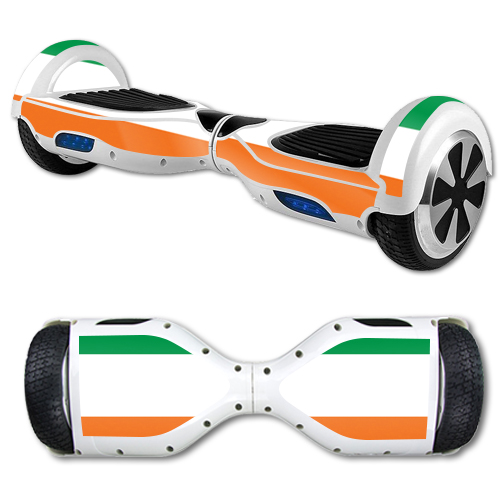 MightySkins Protective Vinyl Skin Decal for Hover Board Self Balancing Scooter mini 2 wheel x1 razor wrap cover sticker Irish Flag