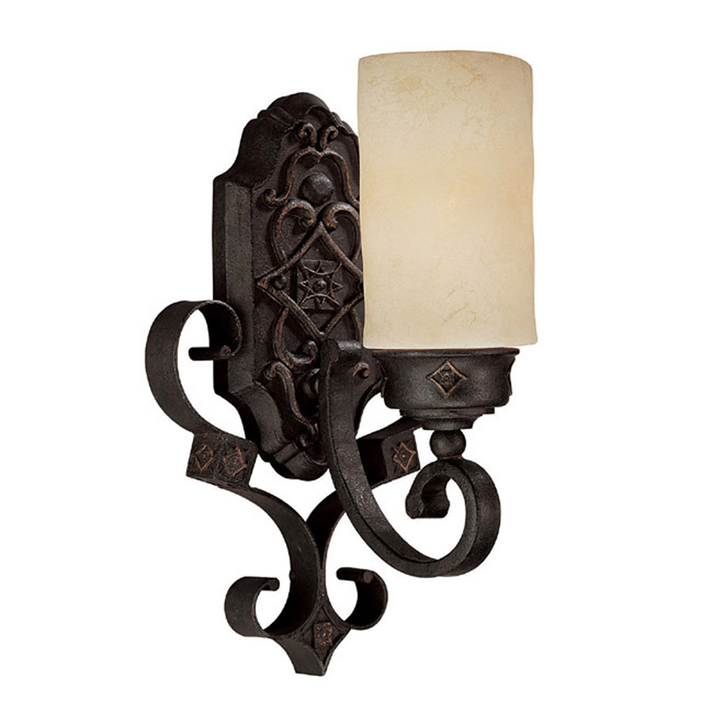 Capital Lighting River Crest Rustic Iron 1 Light Sconce